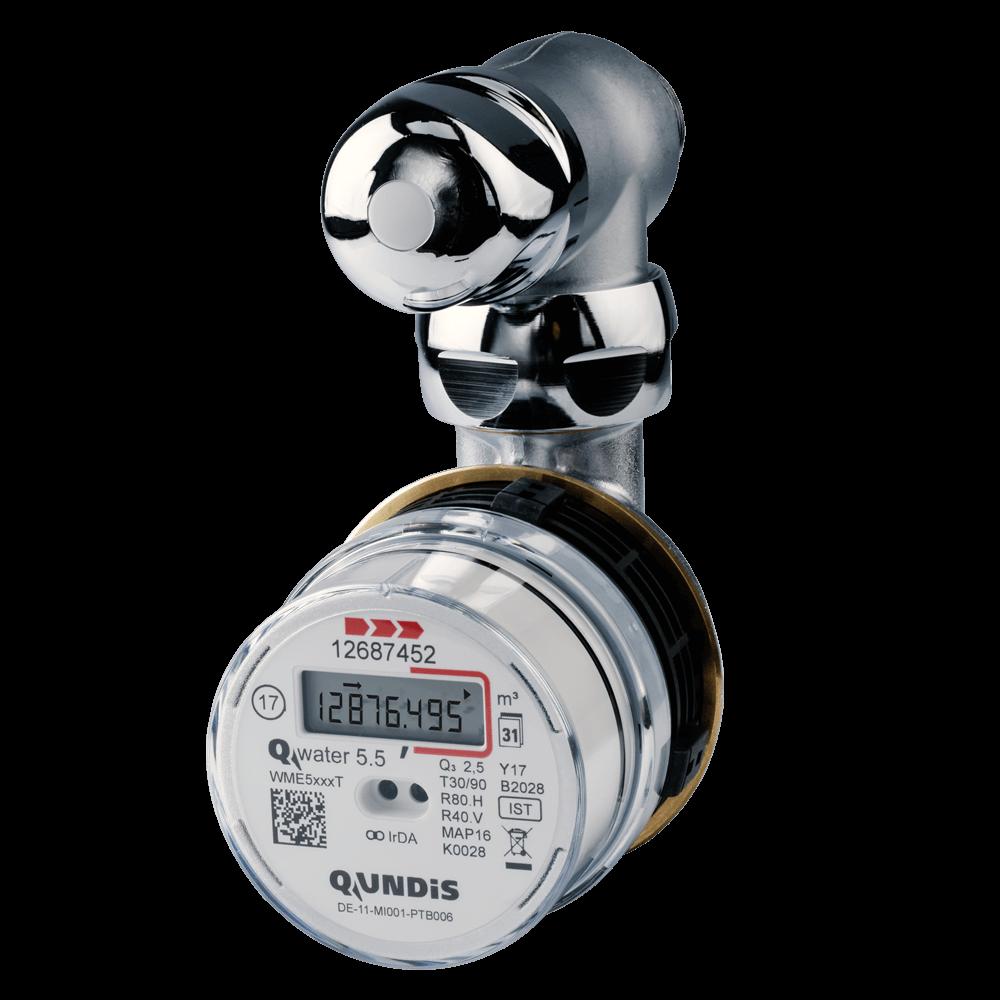 QUNDIS Elekt Ventilzaehler Warm Qwater5.5