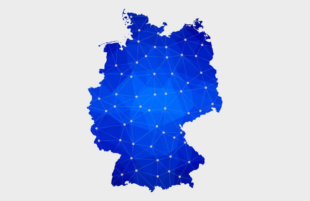FINRON arbeitet deutschlandweit